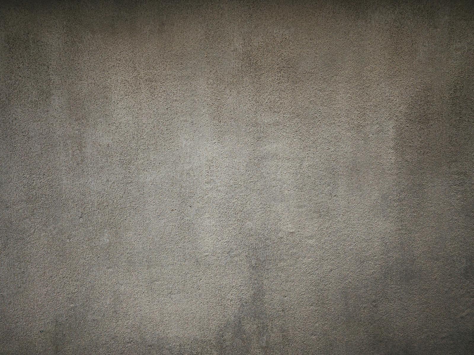 「塗りムラのあるコンクリート壁(テクスチャ)」の写真