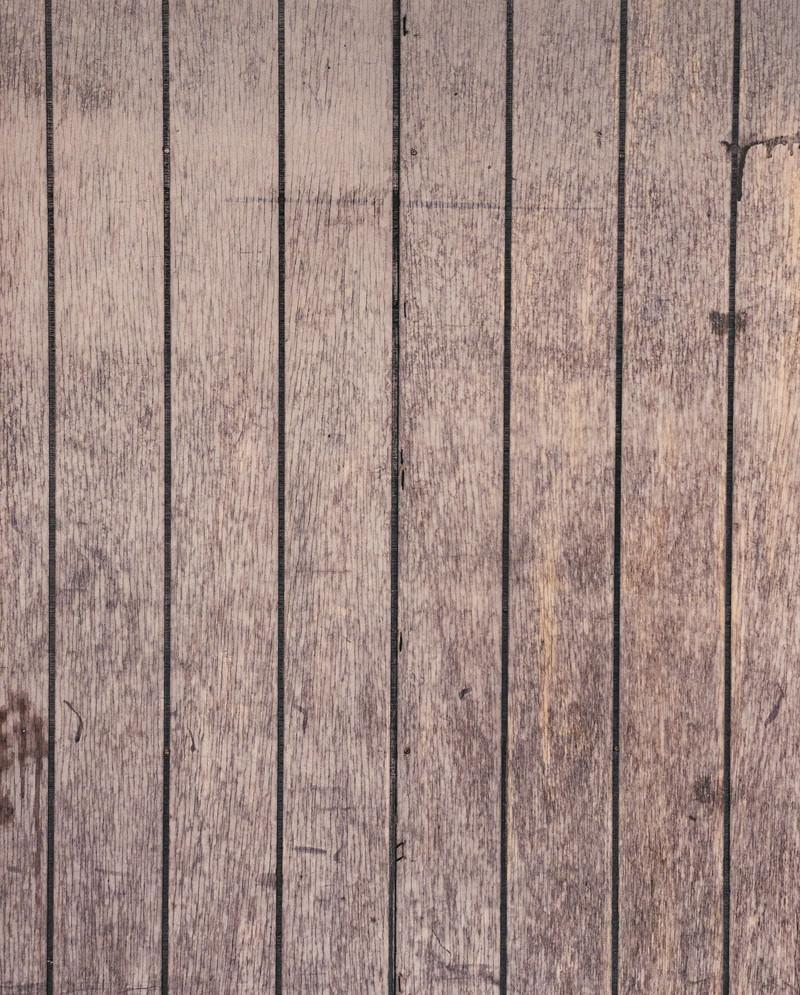 「汚れた木目の床」の写真