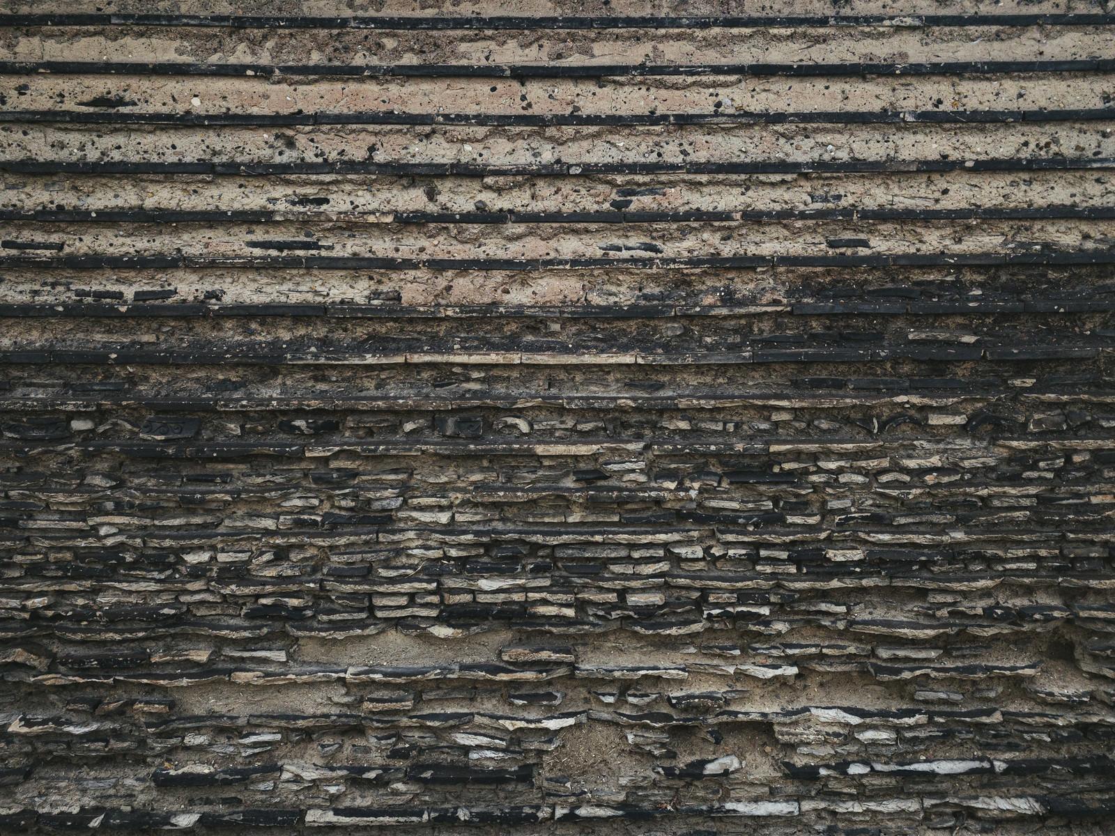 「崩れかけた壁」の写真