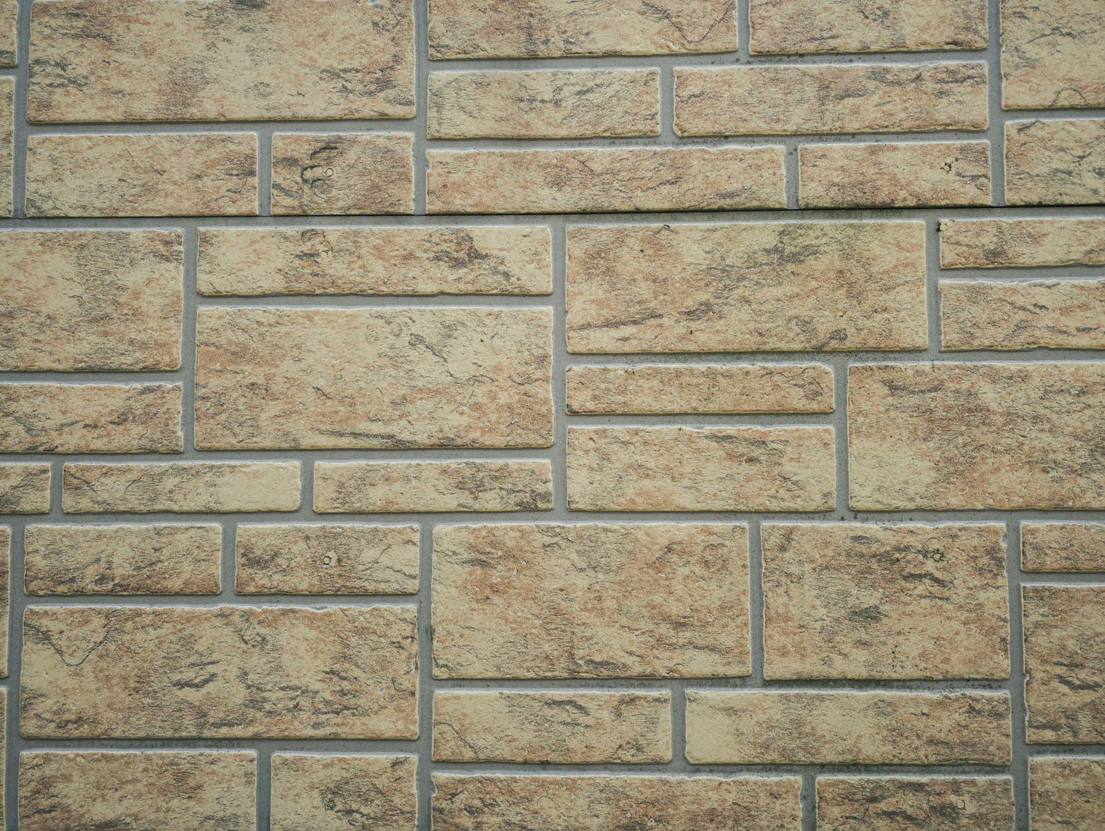 「いろんなサイズの長方形が敷き詰められたタイル(テクスチャ)」の写真