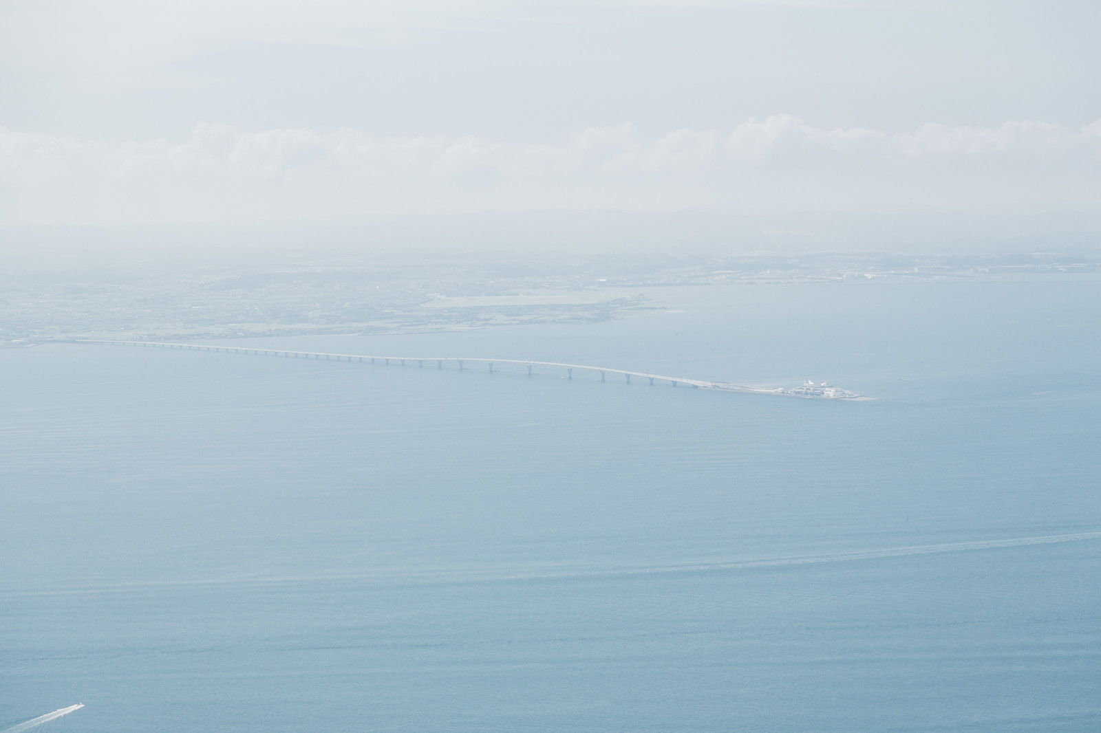 「羽田から遠目に見えるうみほたる」の写真