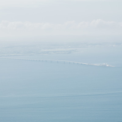 「羽田から遠目に見えるうみほたる」の写真素材