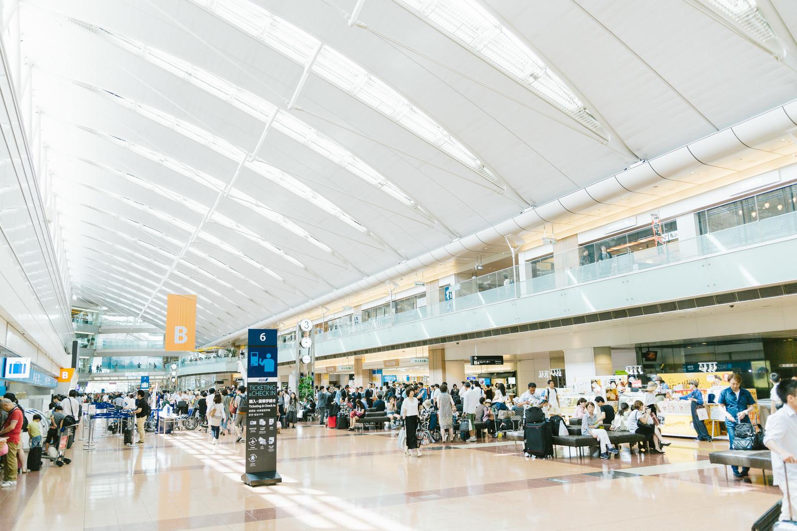 「羽田空港第2ターミナル」の写真