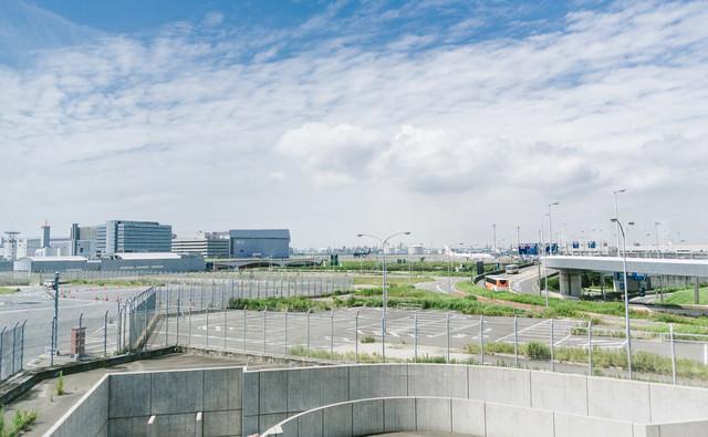 羽田空港周辺の様子の写真