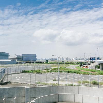 「羽田空港周辺の様子」の写真素材