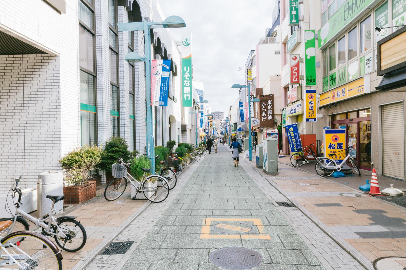 「綱島商店街入り口」の写真