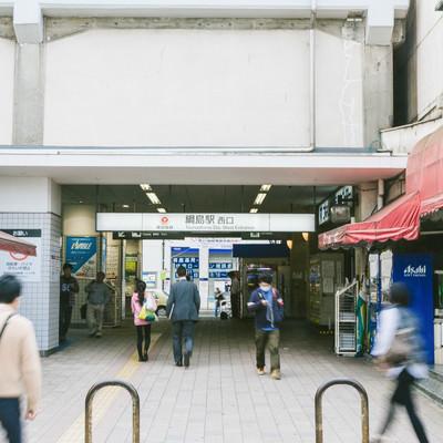 「綱島駅西口の様子」の写真素材