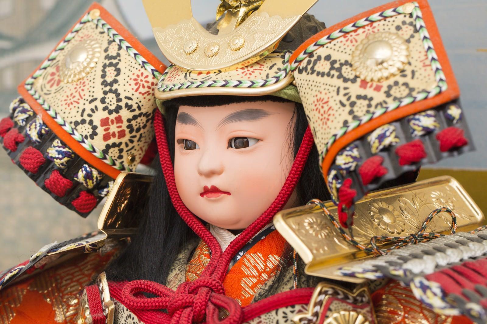 「五月人形(甲冑)」の写真