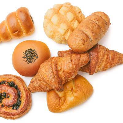 「マーガリンがたっぷり含まれた菓子パン」の写真素材