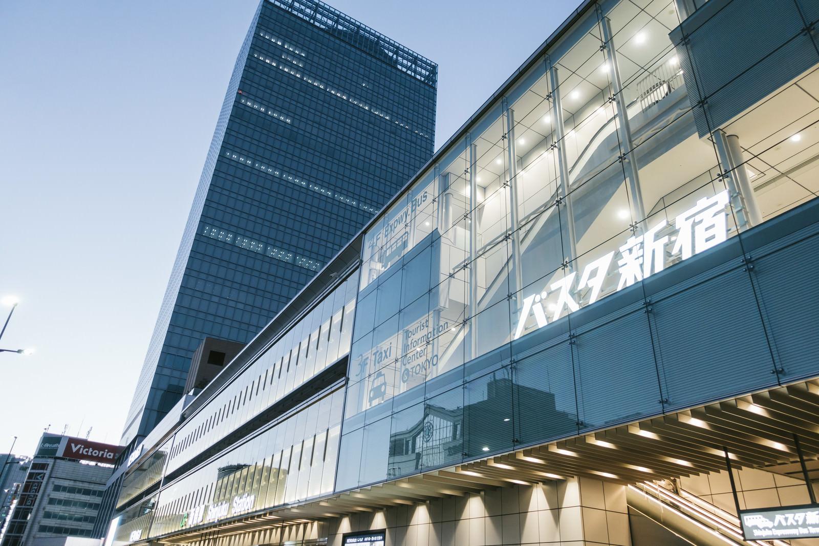 「バスタ新宿駅」の写真