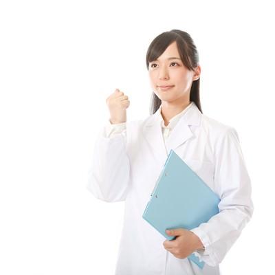 「明日を夢見る管理薬剤師見習い」の写真素材