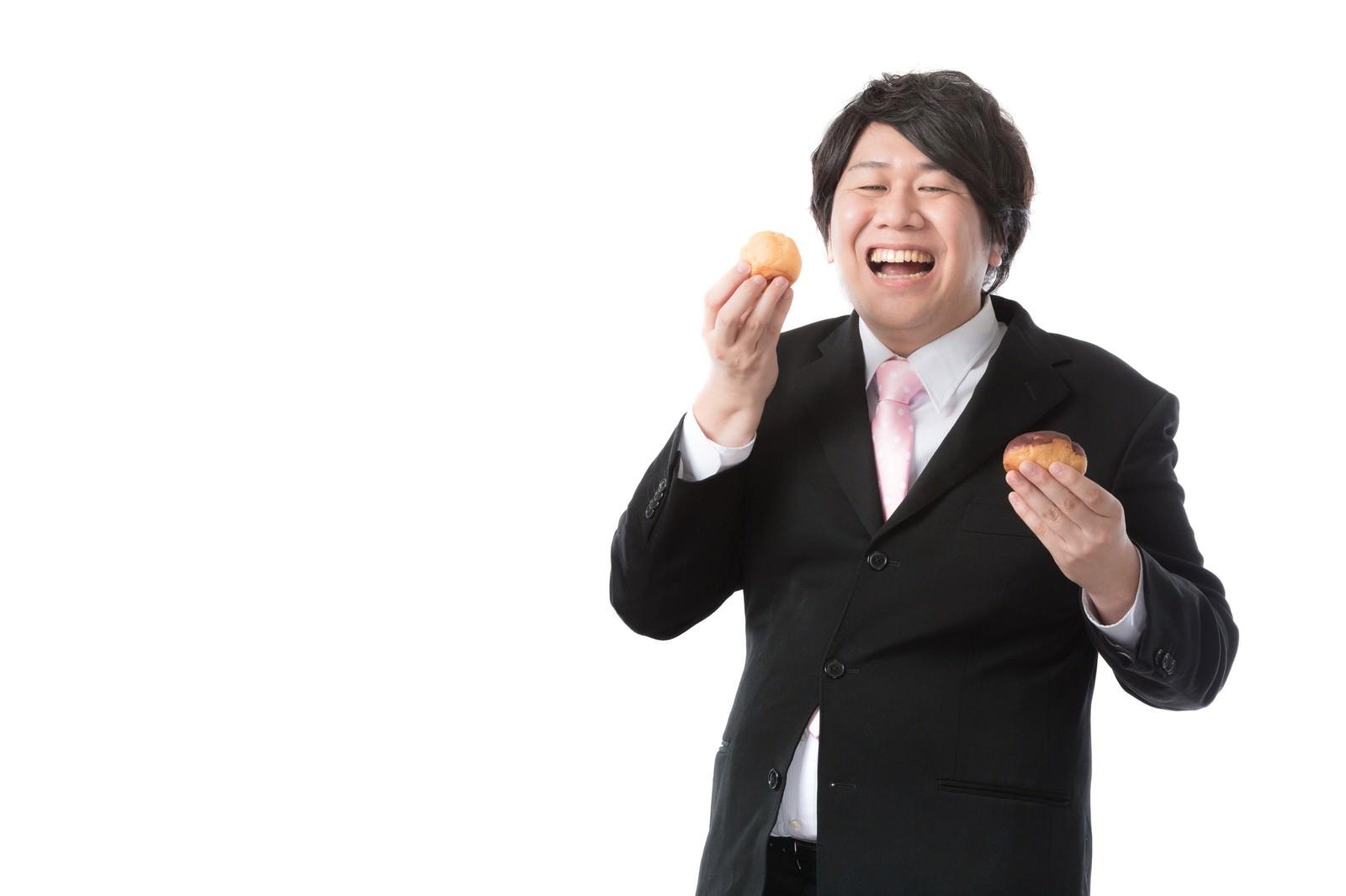 「趣味を仕事にした菓子メーカー商品企画」の写真[モデル:あまのじゃく]