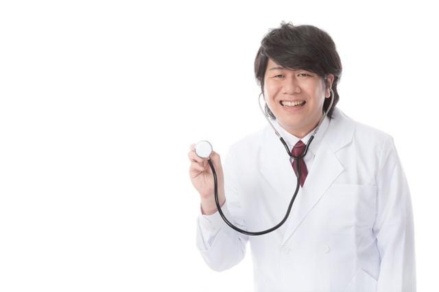 聴診器は医師と患者のコミュニケーションツールの写真