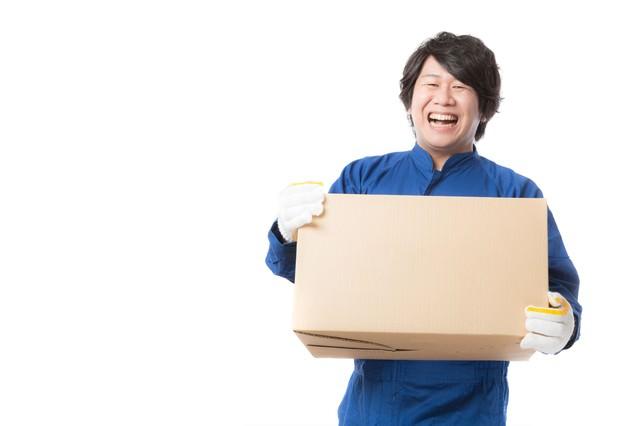 物流の維持・管理を行う配送物量業務の写真