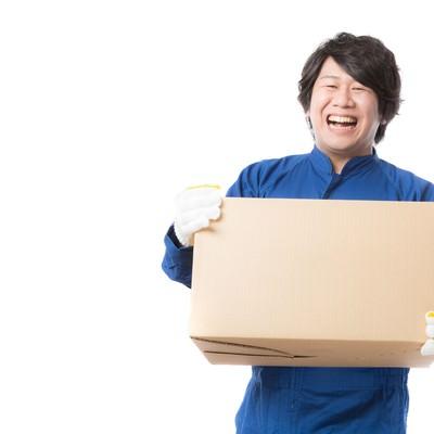「物流の維持・管理を行う配送物量業務」の写真素材