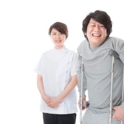 「介護・リハビリテーションの現場で活躍する理学療法士」の写真素材