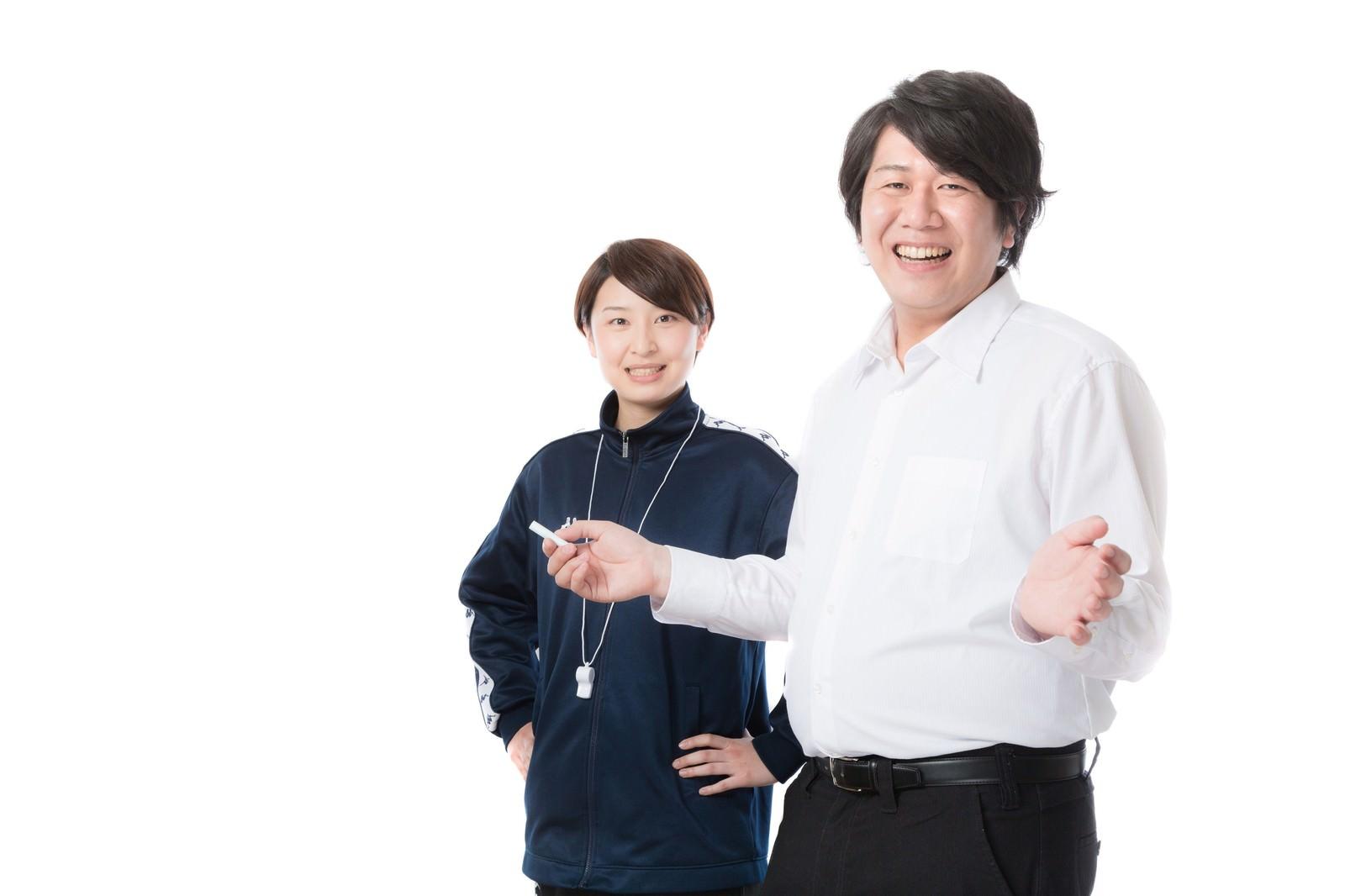 「教育現場で活躍する学校教員」の写真[モデル:八木彩香 あまのじゃく]