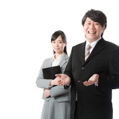 「人材ビジネスを支えるキャリアアドバイザー」の写真素材