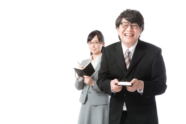 あらゆる業務を支える敏腕秘書の写真