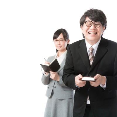 「あらゆる業務を支える敏腕秘書」の写真素材