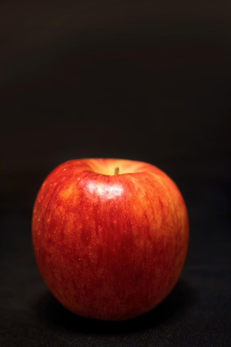 「まんまる林檎」の写真