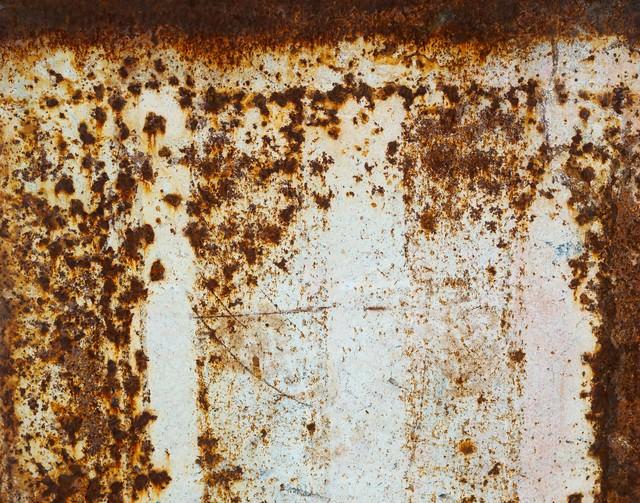 錆びた壁のテクスチャーの写真
