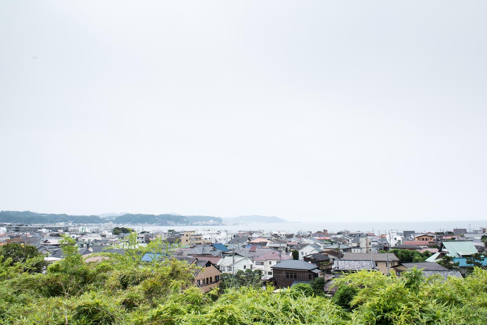 「海沿いの街並み」の写真
