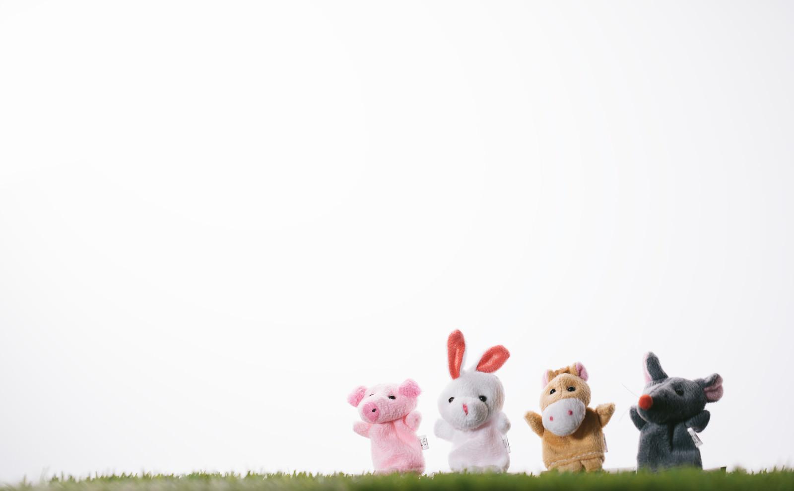 「おいでよブタさんウサギさんウマさんネズミさん」の写真
