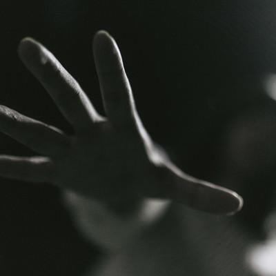「「もう逃さない…」」の写真素材
