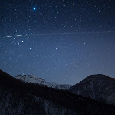 北アルプス大橋からの夜景の写真
