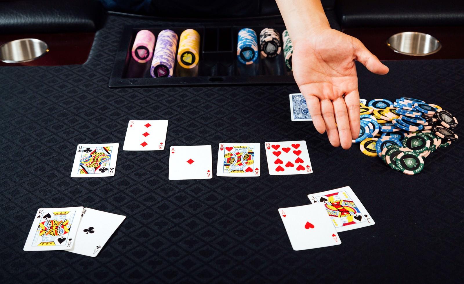 「ポーカー(ストレート)」の写真