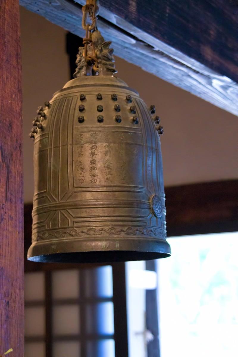 「吊るされた鐘」の写真