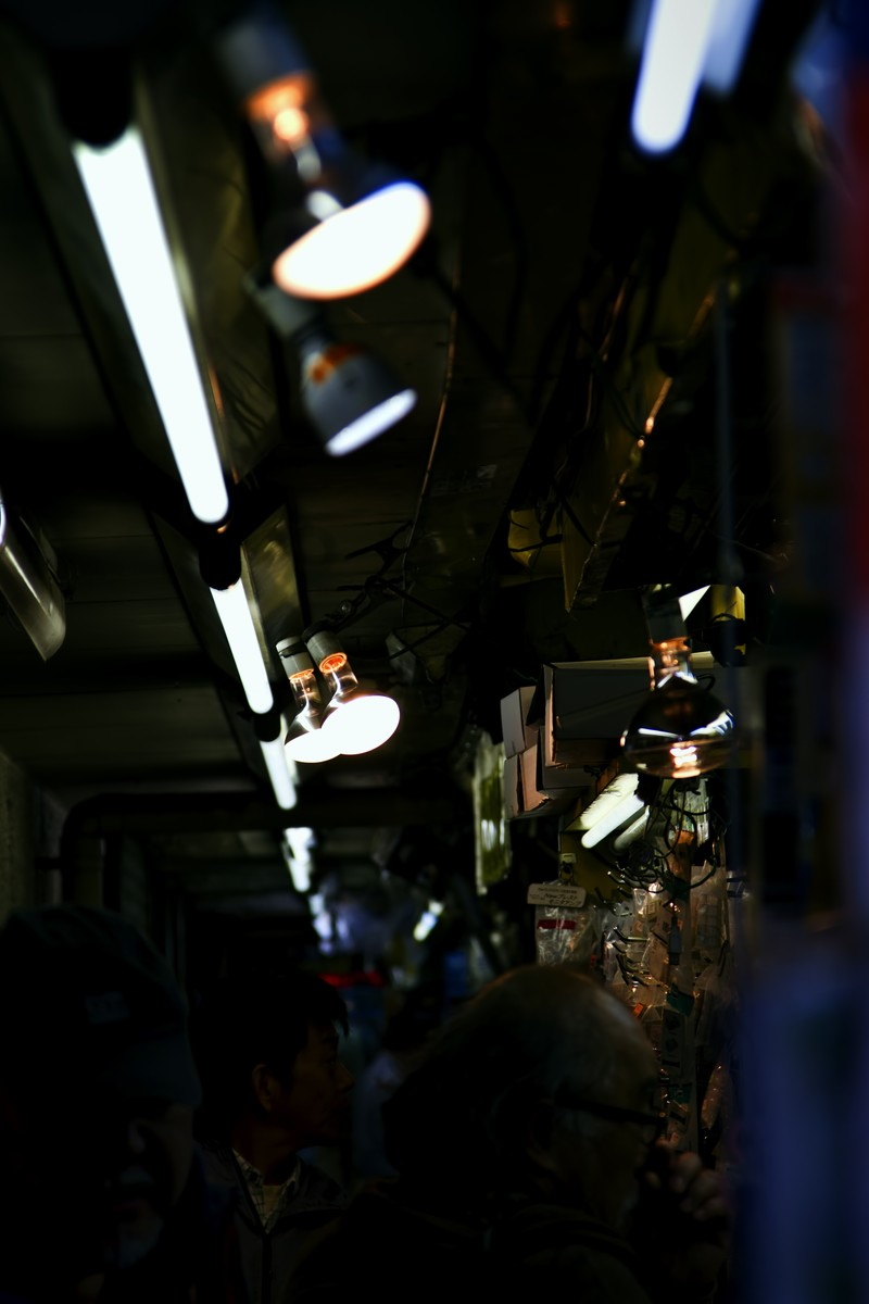 「秋葉原電波会館の中」の写真
