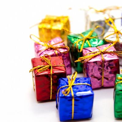 「プレゼントボックス」の写真素材