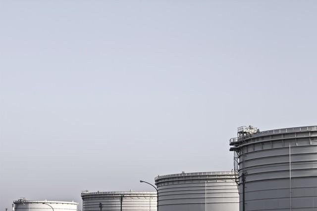 重油タンクの写真