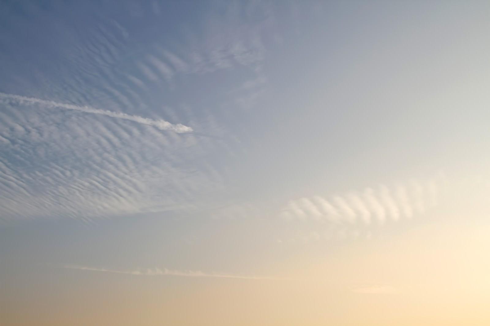 「夕焼け空」の写真