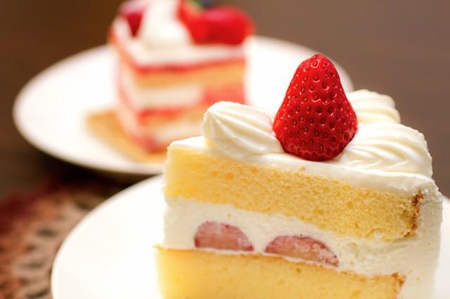 いちごのショートケーキの写真