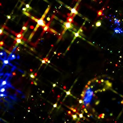 「キラキラ輝くイルミネーション」の写真素材