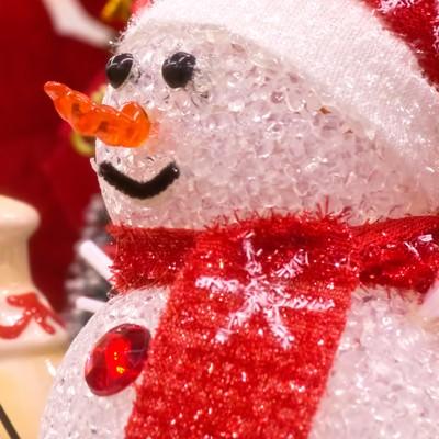 雪だるまの人形の写真