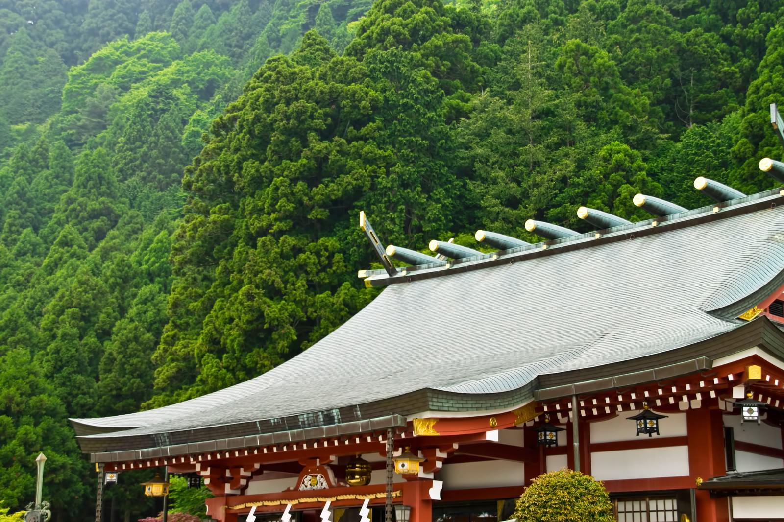 大山阿夫利神社|ぱくたそフリー素材