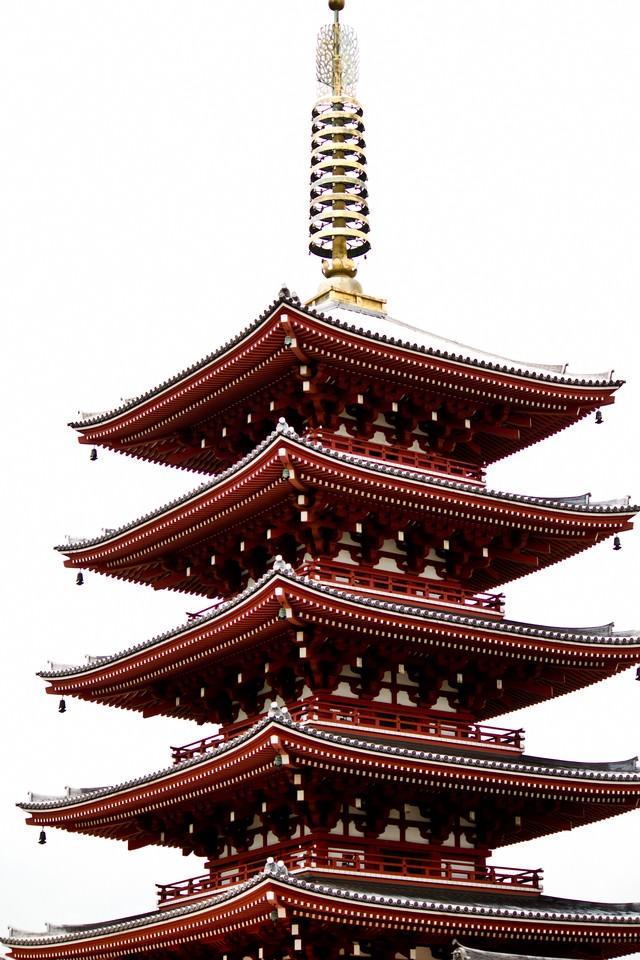 五重の塔の写真