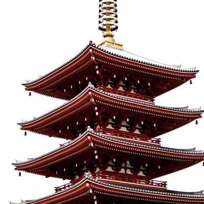 「五重の塔」の写真素材
