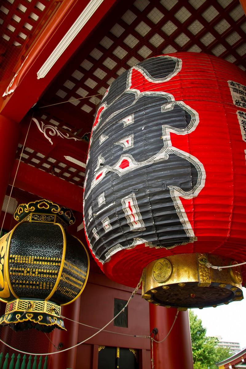 「浅草小舟町の提灯」の写真