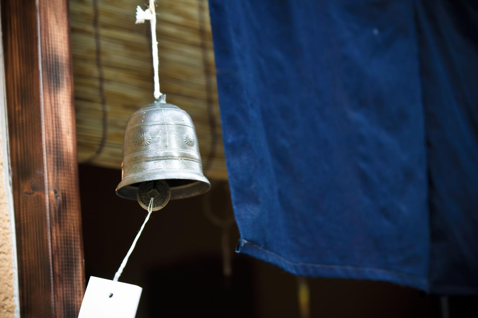 「鐘型の風鈴」の写真