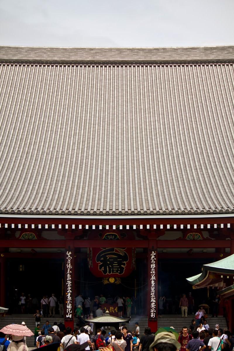 「浅草寺正面」の写真
