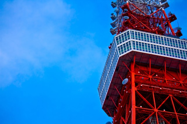 東京タワー展望の写真