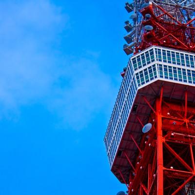 「東京タワー展望」の写真素材