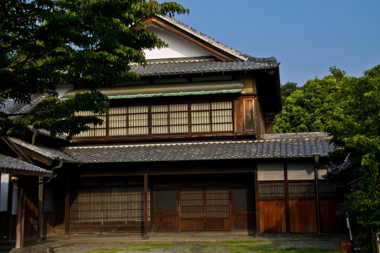 「古いお屋敷」の写真