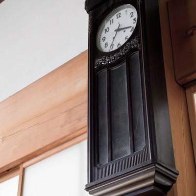 「古い壁掛け時計」の写真素材