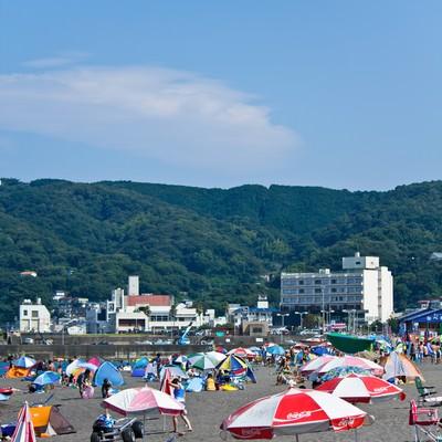 「真夏のビーチ」の写真素材